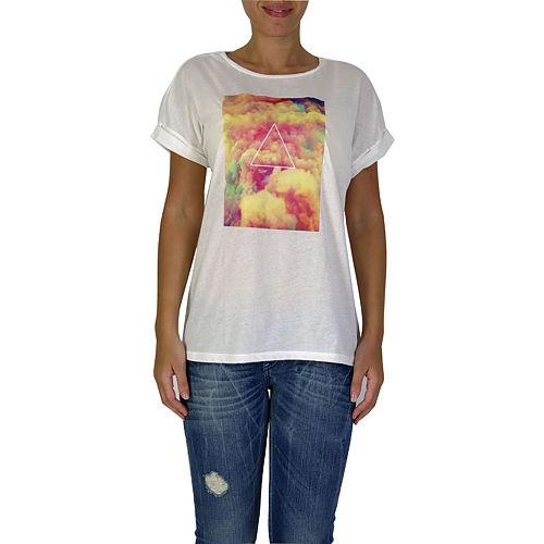 İrem Yıldırım Renkli Üçgen T-Shirt