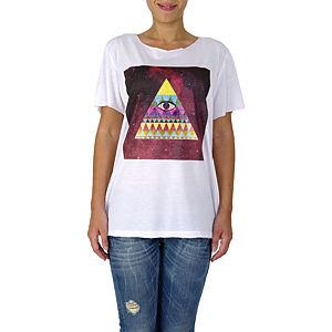 İrem Yıldırım Üçgen Göz Basic T-Shirt