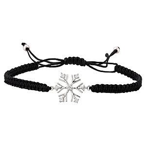 Jival Lady Petite Koleksiyonu Snowflake Pırlanta Bileklik