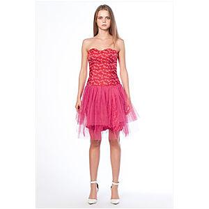 Karahasan's Pembe Kalpli Elbise