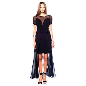 Karahasan's Siyah Şifon Elbise