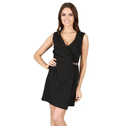 KeiKei Siyah Mini Elbise