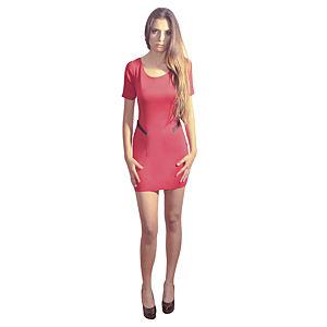 Kraviech Kırmızı Mini Kraviech Elbise