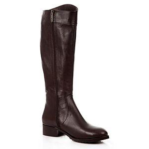 LeSille Kahverengi Deri Basic Pimli Çizme