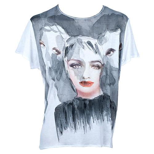 dANKE T-shirts Untitled Kadın T-Shirt UNW5