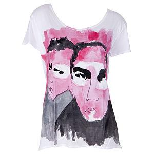 dANKE T-shirts Untitled2 Kadın T-Shirt un2-wt-001