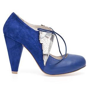 Duygu Ergör Angeli D'argento Saks Mavi Topuklu Ayakkabı