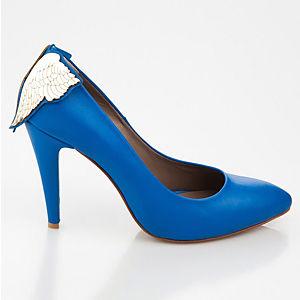 Duygu Ergör Sindirella Angelo Mavi Ayakkabı