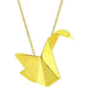 Esquemari Origami Kuş Kolye