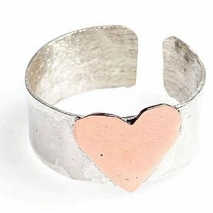 G'made Gümüş Aşk Yüzük