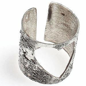 G'made Kalbim Boş Gümüş Yüzük