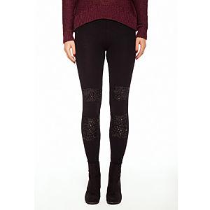 Aysquel Detaylarla Süslü Legging