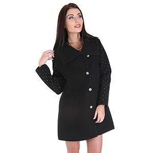 Berna Ulutaş Kolları Taşlı Berna Ulutaş Tasarım Palto