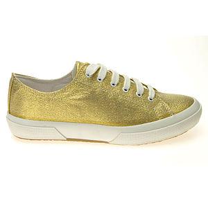 Colour Steps Altın Rengi Simli Spor Ayakkabı