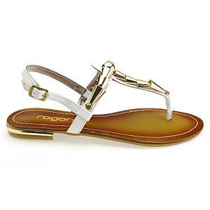 Colour Steps Beyaz Tasarım Sandalet