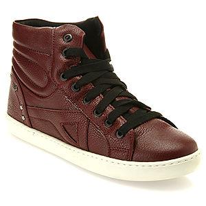 Colour Steps Bordo Boğazlı Sneakers