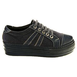 Colour Steps Füme Topuklu Spor Ayakkabı