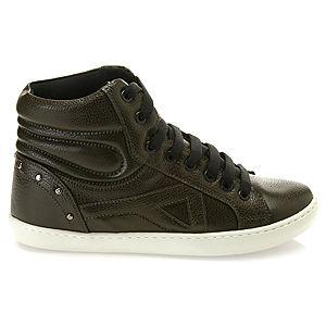 Colour Steps Haki Boğazlı Sneakers