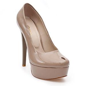 Colour Steps Paio Krem Damla Topuklu Ayakkabı