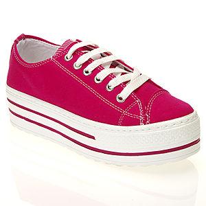 Colour Steps Pinky Pembe Topuklu Spor Ayakkabı