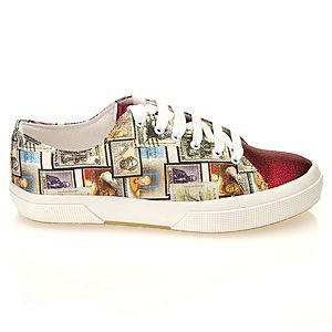Colour Steps Pul Baskılı Spor Ayakkabı