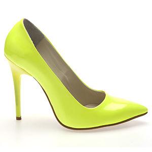 Colour Steps Sarı Neon Stiletto