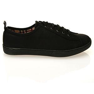 Colour Steps Siyah Bağcıklı Spor Ayakkabı