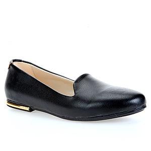 Colour Steps Siyah Rugan Şık Babet