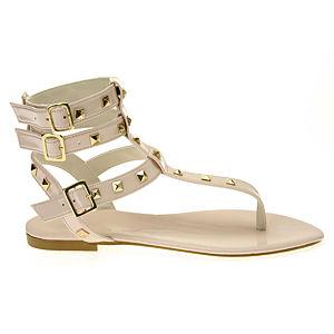 Colour Steps Valeria Pudra Rengi Zımbalı  Sandalet
