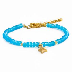 2bTrendy Mavi Yıldız Figürlü Bileklik