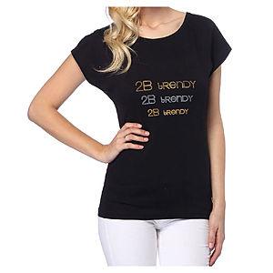 2bTrendy Siyah 2b Tredy T-Shirt