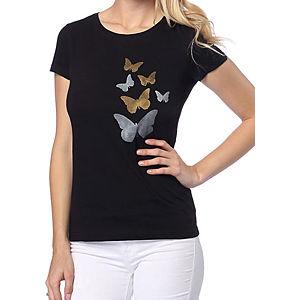 2bTrendy Siyah Kelebekli T-Shirt