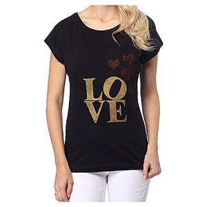 2bTrendy Siyah Love T-Shirt