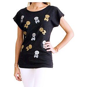 2bTrendy Skulls T-Shirt