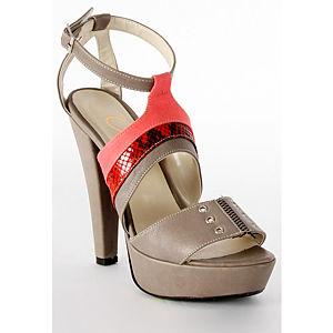 2iki by Sezgi Besli Gri Platform Topuk Ayakkabı