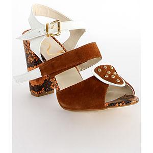 2iki by Sezgi Besli Kahverengi Platform Ayakkabı