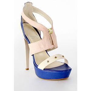 2iki by Sezgi Besli Krem Platform Topuk Ayakkabı