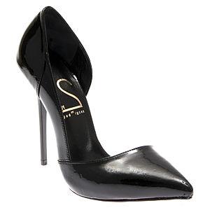 2iki by Sezgi Besli Siyah Düz Rugan Ayakkabı