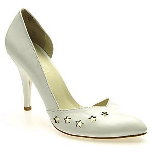 Almost 12 Beyaz Lazer Kesim Ayakkabı