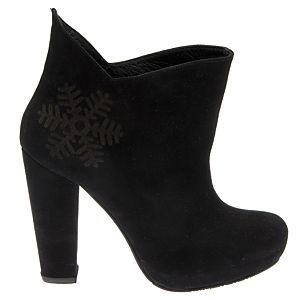Almost 12 Snowflake Siyah  Ayakkabı