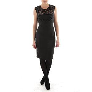 Aylin Yılmaz Robası Dantelli Pileli Elbise