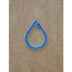 B612 Minimal Blue Raindrop