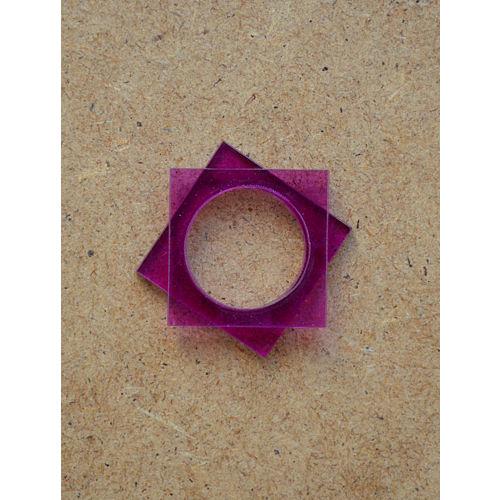 B612 Purple Square