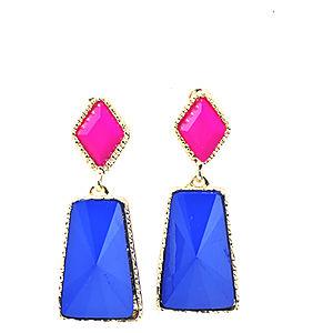 Mecrea Accessories Colours Kontrast Neon Renkli Küpe