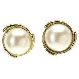 Mecrea Accessories Gold İnci Küpe