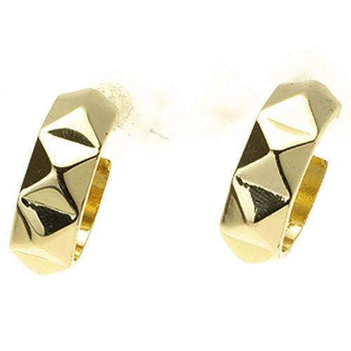 Mecrea Accessories Triangle Gold Küpe