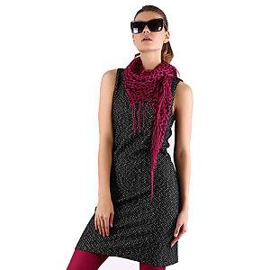 Mecrea Antrasit Kırçıllı Elbise