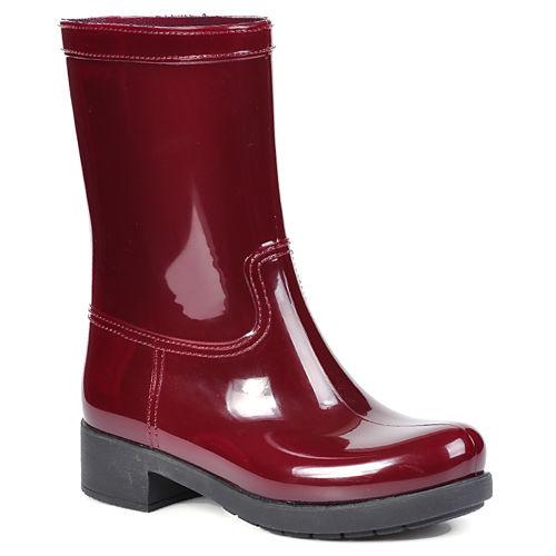 Mecrea Shoes Bordo Rubber Yağmur Çizmesi