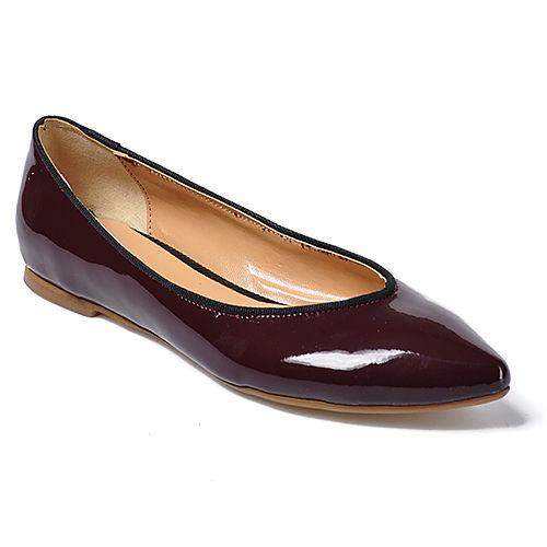 Mecrea Shoes Bordo Rugan Stiletto Babet