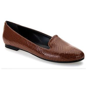Mecrea Shoes Duma Taba Rugan Yılan Babet